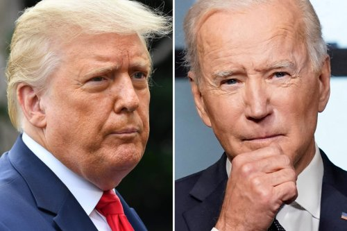 Trump says world is 'laughing' over Biden's 'politically correct' military