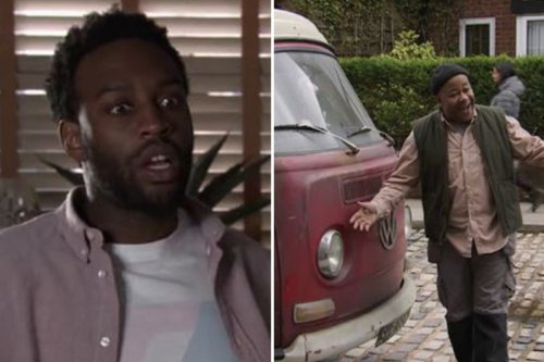 Corrie fans baffled by campervan plot hole as Ed Bailey makes dramatic escape