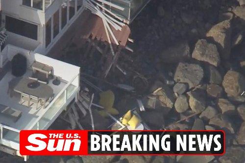 Five hurt in Malibu balcony collapse 'with traumatic injuries'