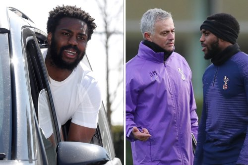 Rose 'asks to return to Spurs squad' after Mourinho sacking and jokes about exit