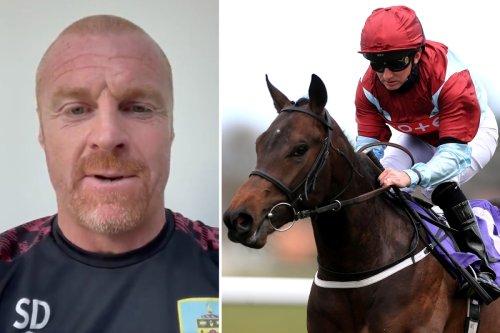 Huge Burnley fan goes for £98K jackpot with wonderhorse backed by Sean Dyche