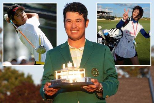 Matsuyama grew up idolising Tiger Woods & secretly married 'mysterious' wife Mei