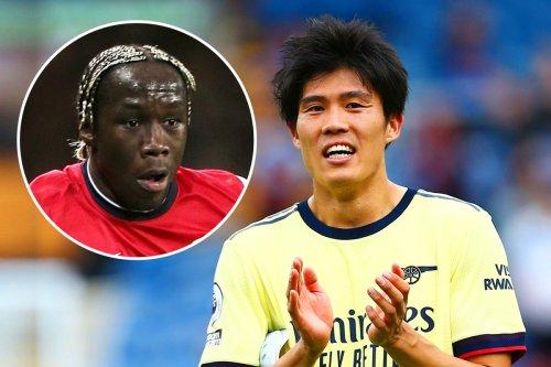 Arsenal fans reckon they've got 'new Sagna' in Tomiyasu after Burnley display