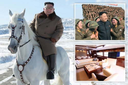 Inside Kim Jong-un's lavish lifestyle from private palaces to millions blown on lingerie for his 'pleasure squad'