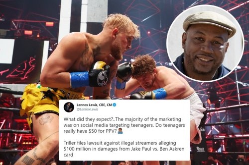 Lewis claims marketing Paul vs Askren to teenagers was behind illegal streaming