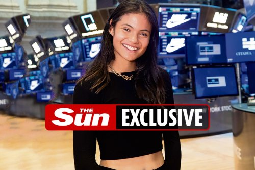 Emma Raducanu on way to becoming £1BILLION athlete as she applies for trademark