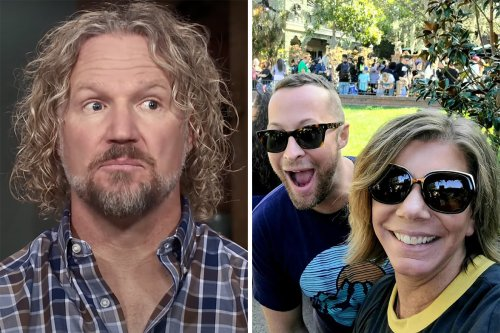 Sister Wives' Meri ditches husband Kody & cuddles up to another man on trip