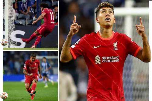 Salah and Firmino score twice as Reds run riot in Portugal for second CL win