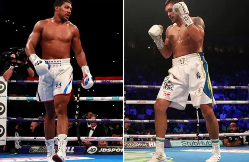 Anthony Joshua warned Usyk 'hits hard enough' to derail blockbuster Fury fight