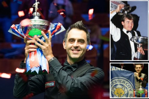 Top ten snooker players of all time with O'Sullivan beating Hendry to No1