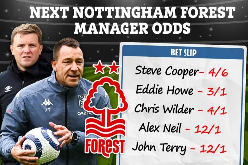 Nottingham Forest next manager: Terry and Howe in the mix with Cooper leading