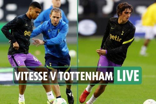 Vitesse vs Tottenham LIVE: Latest updates from Europa Conference League match