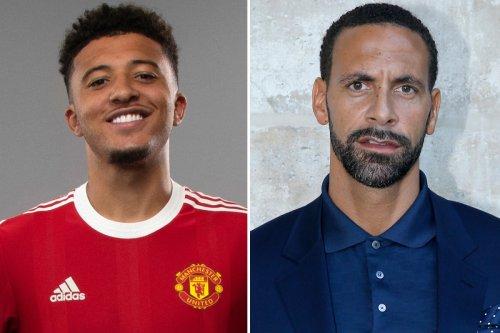Man Utd stars welcome Sancho while Ferdinand hails 'next Ronaldo' with chant