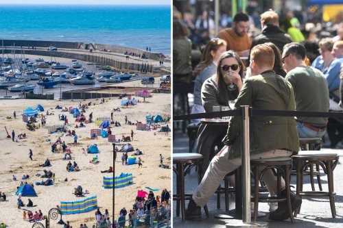 Britain to bask in 20C mini-heatwave tomorrow as sun to return after washout