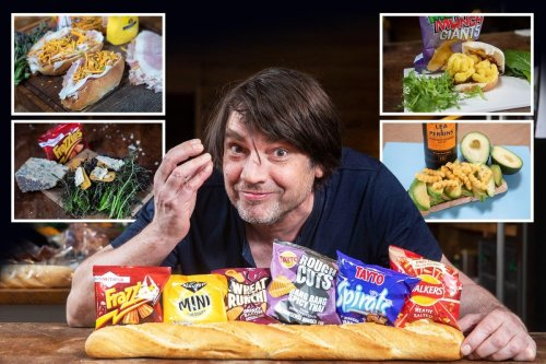 The best crisps to use in a sarnie - from Bombay mix to Monster Munch