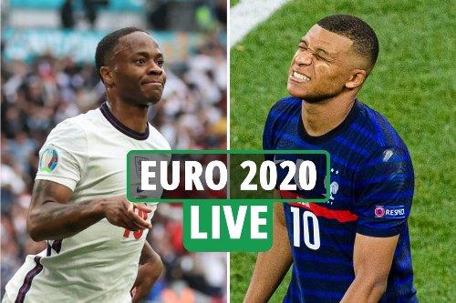 Euro 2020 LIVE: England BEAT Germany, Ukraine vs Sweden build-up, reaction as France LOSE to Switzerland