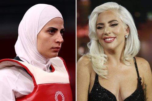 Lady Gaga lookalike spotted competing in taekwondo at Tokyo 2020 Olympics
