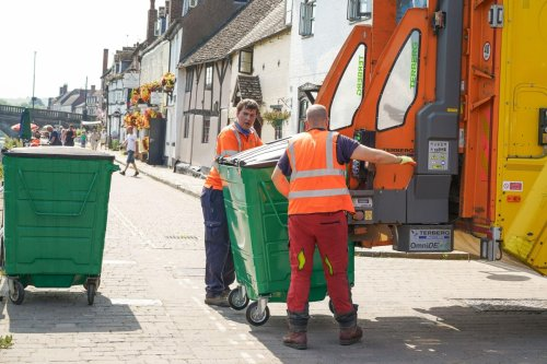 Bin lorry drivers offered £3k bonuses to clear rubbish backlog as workers exempt