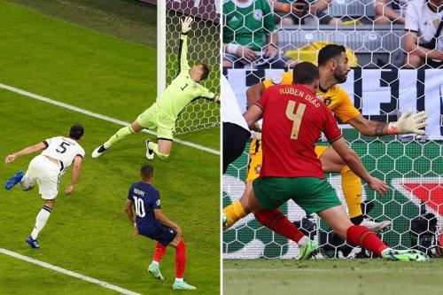 Germany make Euros history as incredible 61-year own-goal record falls