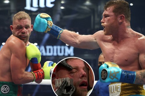 Canelo KOs Billy Joe Saunders in R8 to secure third super-middleweight title