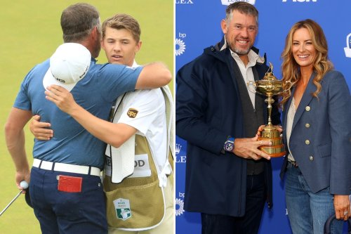 Westwood says son's 'knees are knocking' at replacing wife Helen as caddie
