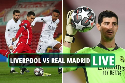 Liverpool vs Real Madrid LIVE: Latest updates from Champions League match