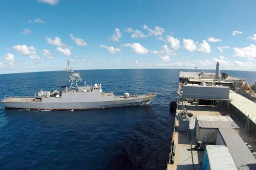 Iran warships 'taking weapons to Venezuela' DIVERT to Africa after US threat
