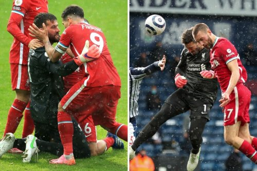 Watch Alisson score dramatic injury-time winner as Liverpool hunt down top four