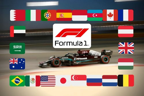 F1 calendar 2021: Grand Prix times, practice and qualifying schedules and venues