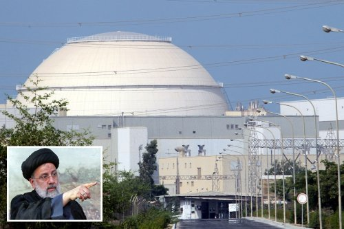 Iran's nuclear plant shut hours after Israel vowed to attack 'murdering hangmen'