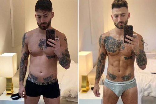 Jake Quickenden distracts fans as he reveals incredible body transformation