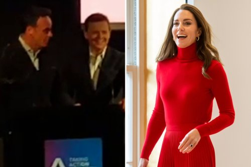 Hilarious moment Dec Donnelly accidentally mixes up The Queen and Kate Middleton calling her 'Your Majesty'