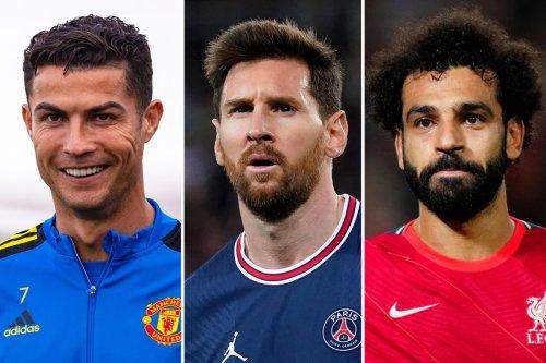 Ronaldo and Messi not as good as Mo Salah, says ex-Liverpool ace Saunders