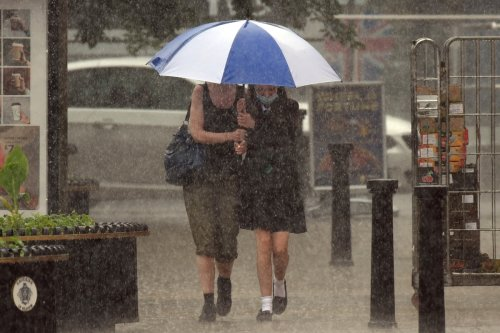 Storms & rain to batter UK with fears of flooding ahead of England v Scotland