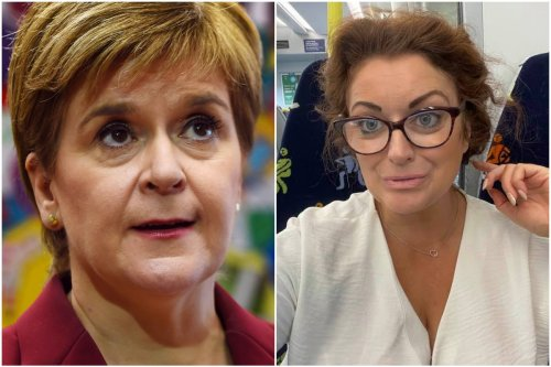 Sturgeon's sister claims she was only maskless on train to 'eat sandwich'