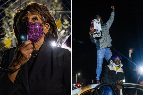 Maxine Waters urges Minnesota BLM protesters to 'get confrontational