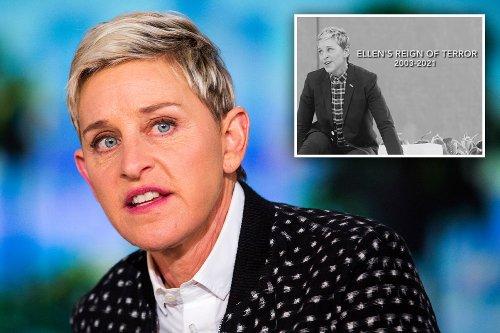 MTV Awards In Memoriam segment rips Ellen and her 'reign of terror'