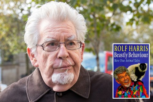 Rolf Harris merch STILL being sold online 7 years after he was jailed for abuse