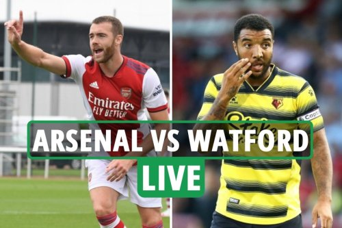Arsenal vs Watford LIVE: Gunners face Hornets in behind-closed-doors friendly
