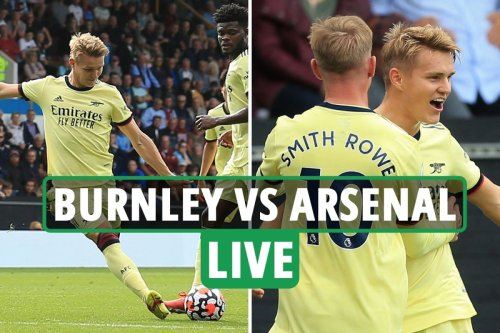Burnley vs Arsenal LIVE: Latest updates from Premier League match