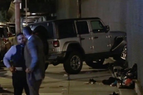 Driver hunted after jeep 'deliberately' plows into family of 6 on Bronx sidewalk
