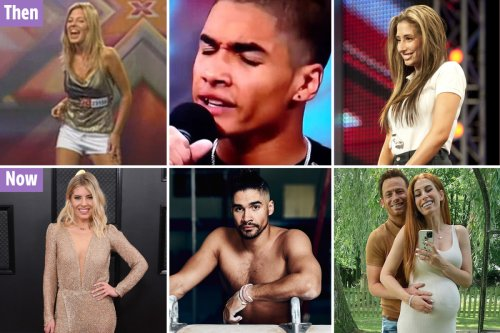 Stars you forgot were on X Factor from 'inappropriate' Mollie King to Max George