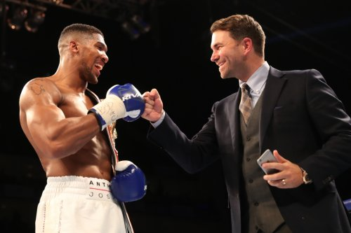 Joshua reveals he turned down £10m offer to leave Hearn in 2015