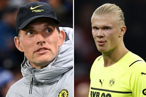 Dortmund 'angry' by Chelsea boss Tuchel's public Erling Haaland transfer chase
