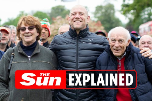 Who are Mike Tindall's parents Philip and Linda?