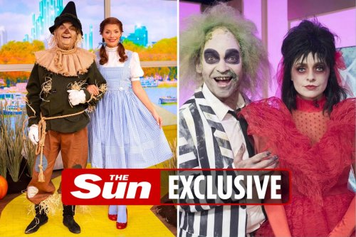 Holly Willoughby reveals This Morning makes history for Halloween special