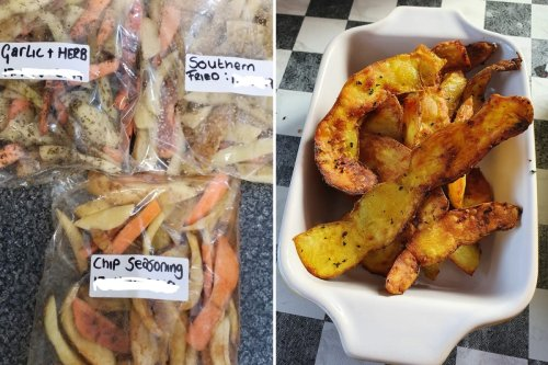 Woman reveals how she turns leftover potato skins into chips and people are loving the idea