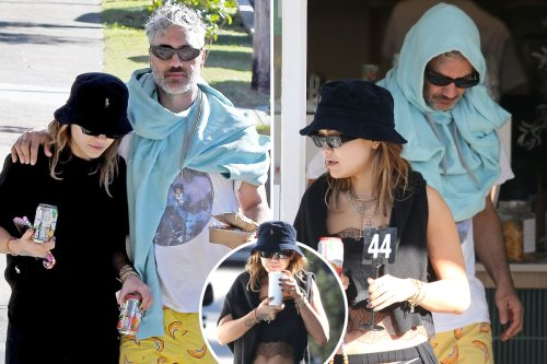 Rita Ora and Taika Waititi pictured together for the first time Down Under