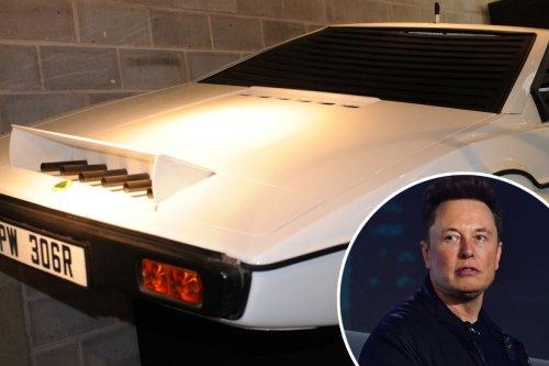 Elon Musk's car history, from British sports cars to futuristic Cybertruck