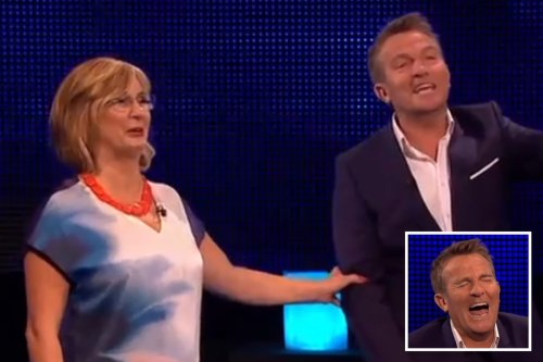 The Chase's Bradley Walsh completely loses it over VERY rude question